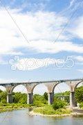 Viaduct, Vogue, Rhone-Alpes, France Stock Photos