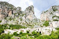 Moustiers Sainte Marie, Provence, France Stock Photos