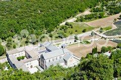 Senanque abbey, Provence, France Stock Photos