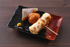 Japanese-style Oden Stock Photos