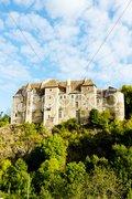 Boussac Castle, Creuse Department, Limousin, France Stock Photos