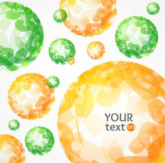 Abstract Sphere Background. Vector Stock Illustration