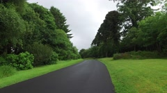 Asphalt road at connemara in ireland  14 Stock Footage