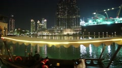 Burj Khalifa - megatall skyscraper and Dubai mall, United Arab Emirates Stock Footage