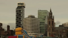 Atlantic Tower and Unity Buildings - Liverpool Stock Footage