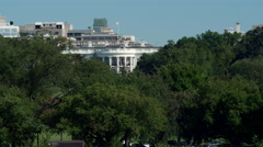 White House ms Stock Footage