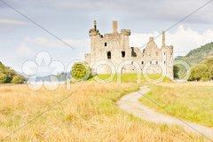 Kilchurn Castle, Scotland Stock Photos