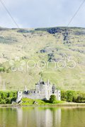 Kilchurn Castle, Loch Awe, Scotland Stock Photos