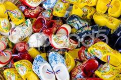 Clogs, Volendam, Netherlands Stock Photos