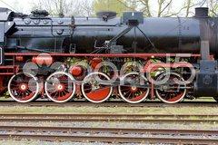Steam locomotive, Veendam - Stadskanaal, Netherlands Stock Photos