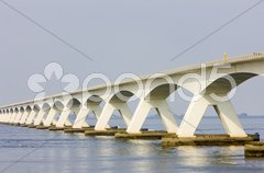 Zeelandbrug, Zeeland, Netherlands Stock Photos