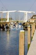 Drawbridge, Zierikzee, Zeeland, Netherlands Stock Photos