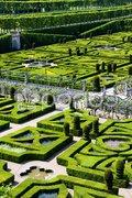 Villandry Castle''s garden, Indre-et-Loire, Centre, France Stock Photos