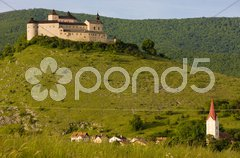 Krasna Horka Castle, Slovakia Stock Photos