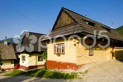 Vlkolinec, Slovakia Stock Photos