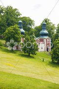 Pilgrimage place, Banska Stiavnica, Slovakia Stock Photos