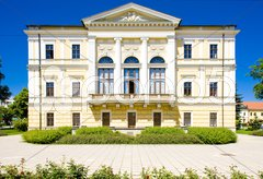 Town hall, Spisska Nova Ves, Slovakia Stock Photos