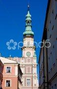 Town Hall, Zamosc, Poland Stock Photos