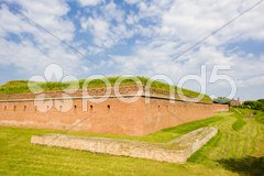 Fortification, Zamosc, Poland Stock Photos