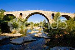 Pont Julien, Provence, France Stock Photos