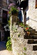 La Couvertoirade, Aveyron D Stock Photos