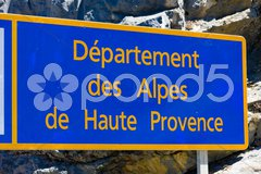 Alpes-de-Haute-Provence Departement, France Stock Photos