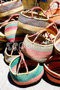 Baskets, Aiguines, Var Departement, Provence, France Stock Photos