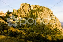 Rougon, Alpes-de-Haute-Provence Departement, France Stock Photos
