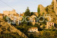 Rougon, Alpes-de-Haute-Provence Departement, France Stock Photos