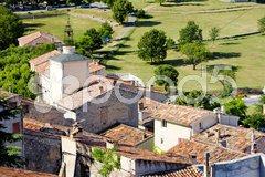 Aiguines, Var Departement, Provence, France Stock Photos