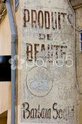 Old signboard of shop in Aix-en-Provence, Provence, France Stock Photos