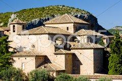 Alquezar, Huesca Province, Aragon, Spain Stock Photos