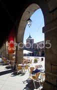 Mercado Chico Square, Avila, Castile and Leon, Spain Stock Photos