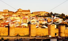 Avila, Castile and Leon, Spain Stock Photos