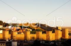 Avila, Castile and Leon, Spain Stock Photos