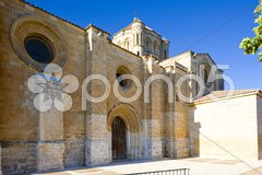 Church of Colegiata de Santa Maria, Toro, Zamora Province, Castile and Leon, Spa Stock Photos