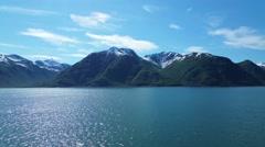 Alaskan Mountains Unaltered Stock Footage