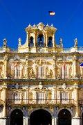 Plaza Mayor (Main Square), Salamanca, Castile and Leon, Spain Stock Photos