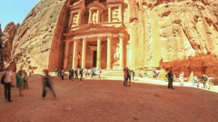Petra Time Lapse Stock Footage
