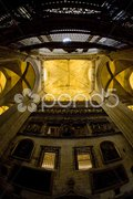 Interior of Cathedral of Seville, Andalusia, Spain Stock Photos