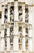 Detail of Cathedral of Seville, Andalusia, Spain Stock Photos