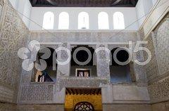Interior of synagogue, Cordoba, Andalusia, Spain Stock Photos