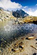 Zbojnicke Tarn, Vysoke Tatry (High Tatras), Slovakia Stock Photos