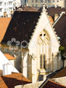Church - view from Michael''s Tower, Bratislava, Slovakia Stock Photos