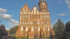 KALININGRAD, RUSSIA ,Cathedral of Koenigsberg Stock Footage