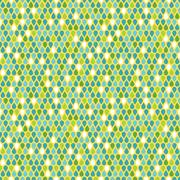 Multicolor raindrops seamless pattern Stock Illustration