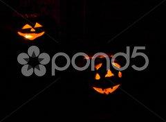 Halloween in Machias, Maine, USA Stock Photos