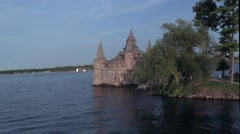 Boldt Castle in upstate New York State Stock Footage