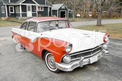 Antique automobile, New Hampshire, USA Stock Photos