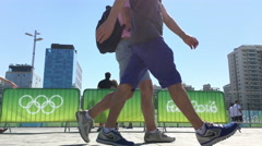 Rio 2016 Olympic Games in Rio de Janeiro Brazil 4k Stock Footage